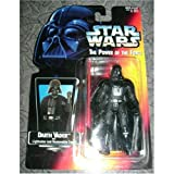 1995 Kenner Star Wars The Power of The Force - Darth Vader with Lightsaber and removable C...