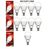 Eveready 14-Watt LED Bulbs (White/Cool Day Light) 9 Pieces Super Sale Pack(Buy 9 Get 1 Free)