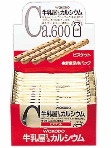 和光堂 牛乳屋さんのカルシウムビスケット163g (4本×12包)