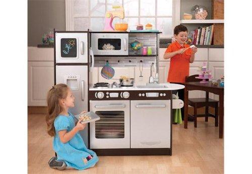 Uptown Espresso Kitchen - KidKraft Furniture - 53260