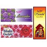Amrutha Aromatics Assorted Incense Sticks 100G (Pack Of 3 ) - B00T9PAODA