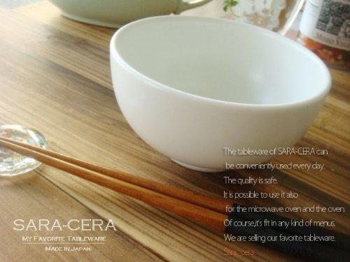 モダン ご飯茶碗 白マット 中鉢 和食器 白い食器 モダン ホーム&キッチン ボール 可愛い 雑貨