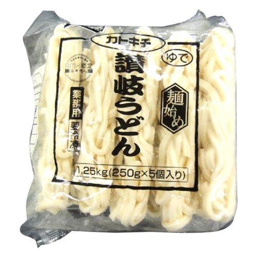 テーブルマーク 麺始め讃岐うどん250(緑) 250g 5個 4個セット 冷凍
