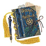 """4.5"""" Witch Craft Mystic Magic Spell Book and Pen"""