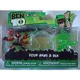 Ben 10 Ultimate Alien Mini Action Figure - Young Ben/Four Arms