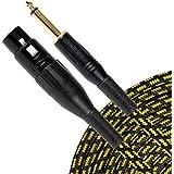 Sunburst Gear 851824003209 1/4-Inch TS To XLR Female Cable (5-Feet)