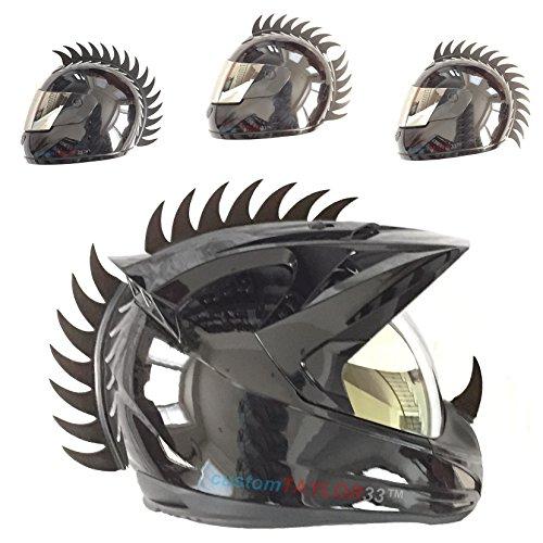 Warhawk/Mohawk Rubber Saw Blade Helmet Accessory Piece (Helmet Not Included)