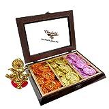 Chocholik Belgium Chocolate Gifts - Scintillating Assortment Of Rock Chocolates With Ganesha Idol - Diwali Gifts