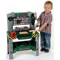 Geschenkidee für Kinder: Bosch Kinderspiel Werkbank mit Sound für nur 32,49€ inkl. Versand