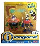 Imaginext, SpongeBob Square Pants Exclusive Figures, Mermaidman & Barnacleboy, 2-Pack