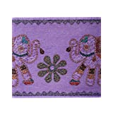 Rajrang Home Décor Cotton Patch Work Violet Wall Hanging Tapestry - B00WWOOLJS