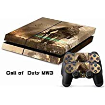 Elton Call Of Duty MW-3 Theme 3M Skin Sticker Cover For PS4 Console And Controllers