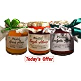 3x250 Gms Honey Combo-SAVE Rs.219 TODAY !! The Finest 100% Pure Raw Natural Unprocessed Honey. Forest/ Jungle...