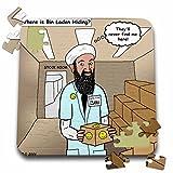 Rich Diesslins Funny General - Editorial Cartoons - Osama Bin Laden Hiding Place - 10x10 Inch Puzzle (pzl_2776_2)