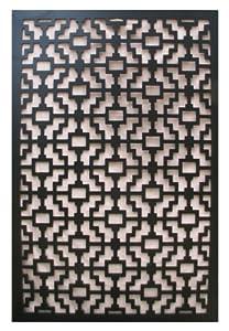 Amazon.com : Acurio Fret Black Vinyl Lattice Decorative