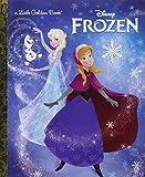Maven Gifts: Disney Sparkling Elsa and Olaf Dolls Set and Little Golden Book: Frozen
