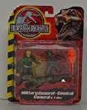 Jurassic Park III Military General and T-Rex