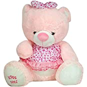 K.S Cute Pink Teddy Bear For Kids And Women - 15 Inch