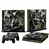 Ps4 Skins Metal Gear Solid V Ground Zeroes Vinyl Decal Cover For Sony Ps 4 Game Console