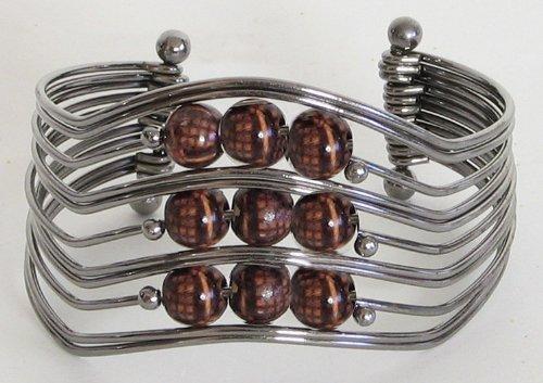 Designer Cuff Bracelet - Metal
