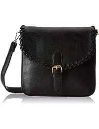 Lino Perros Women's Sling Bag (Black) - B01MTNVHLO