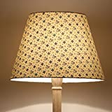 Craftter SMALL DESIGN BEIGE Colour FABRIC FLOOR Lamp Shade (CWFLS-23)