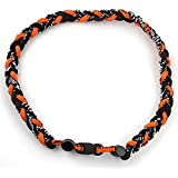 MapofBeauty 20 Sport Style Single Color/ Two Colors/ Three Colors Fashion Three Braided Rope Tornado Necklace