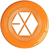 Orange, One Size : XJBD Unisex Kpop EXO Logo Outdoor Game, Sport, Flying Discs, Game Room, Light Up Flying, Sport Disc , Flyer Frisbee, Ultra Star KellyGreen One Size