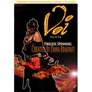 Voi (Veil & Poi): Fireless Spinning for Belly Dancers