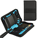 Teckone Universal Electronics Accessories Carrying Travel Organizer Case for WD My Passport External Hard Drive / Power Bank / Memory Card / Power Bank (Small)