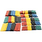 Heat Shrink Tubing Sunsbell 328pcs Heat Shrink Wire Wrap Cable Ratio 2 1 Electric Insulation Tube - MultiColor
