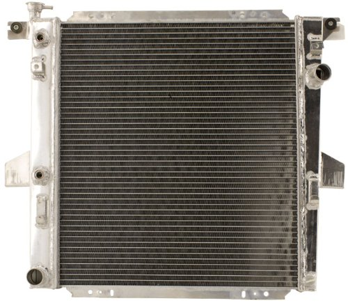 Shepherd Auto Parts 1 Row w/o EOC w/ TOC High Performance All Alumium Engine Radiator