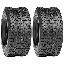 Two 13x6.50-6 Turf Lawn Tire Set Of Two
