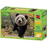 National Geographic Animal Rescue Giant Panda Super 3D Puzzle(100-Piece, Multi-Colour)