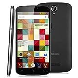 "Doogee X6 Pro- Smartphone libre 4G LTE (Pantalla 5.5"", Android 5.1, Quad Core 1.0GHz, 16GB ROM, 2GB RAM, Wifi, OTA), Negro"