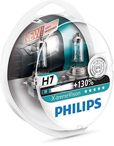 Philips 12972XV+S2 - Bombillas para coches (55W, H7, Halógeno)