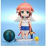 Rosy Women Sora No Otoshimono Icarus Ikaros Scarf Lovely Q Version Pvc Action Figure Collection Model Toys Doll 10Cm
