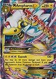 Mega/M Ampharos EX (XY Ancient Origins #28/98) Rare/Holo-Foil Pokemon Card