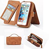 IPhone 6 6S Case Charminer Leather Wallet Detachable Magnetic I6 6SCase Purse Clutch With Flip Credit Card Holder...