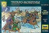 Mongol Raiders XIII-XIV AD (10 plus 12 Mounted) 1-72 Zvezda