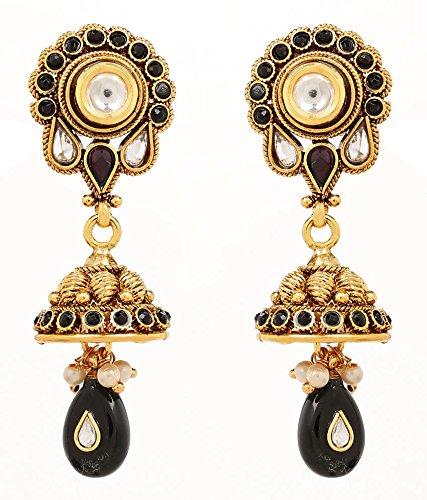 Akshim Multicolour Alloy Earrings For Women - B00NPYA5TY