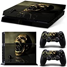 Elton Skull Theme 3M Skin Decal Sticker For PS4 Playstation 4 Console Controller