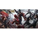 Posterhouzz Movie Captain America: Civil War Iron Man Captain America Ant-Man Black Widow... Fine Art Paper Print...