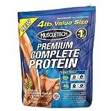 Muscletech Premium Complete Protein 4 Lb (1.81 Kg) Deluxe Chocolate Fudge