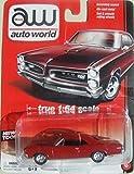 AUTO WORLD 1:64 SCALE RED 1966 PONTIAC GTO DIE-CAST