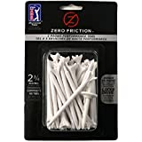 Zero Friction Tour 3-Prong Golf Tees (2-3/4 Inch, White, Pack Of 40)