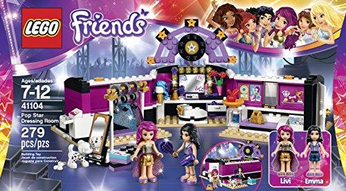 LEGO Friends 41104 Pop Star Dressing Room Building Kit JungleDealsBlog.com