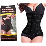 VelVeeta New Abdomen Waist Band Trimmer Control Stomach Body Shaper Burning Fat Shaper Belt
