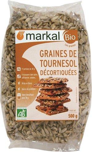 Graines de Tournesol Décortiquées Bio | 500g | Markal
