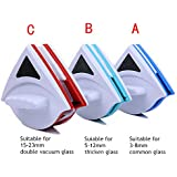 Generic Blue, China : 2016 New Home Tools 3-8mm 5-12mm 15-24mm Double-sided Window Cleaner Glass Wiper Magnetic...